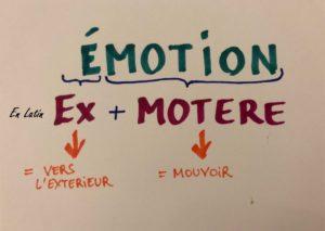 émotion en latin